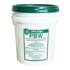 50 lb. Bucket Five Star Pbw Powdered Brewery Wash Cleanser Beer Wine