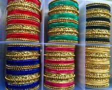INDIAN BRIDAL COLLECTION,PARTY BANGLES,SANGEET MEHANDI WEDDING,6 COLORS