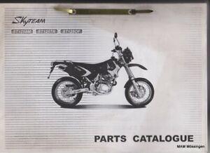 Ersatzteil Katalog Skyteam ST125SM / ST125TR / ST125OF