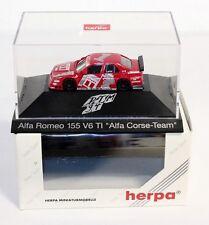 "Herpa 036139, Alfa Romeo 155 V6 TI ""Alfa Corse Team"",1:87, im Okt.    #ab1524"