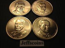 2014 P Presidential Dollar Harding Coolidge Hoover Roosevelt 4 Coin Complete Set