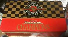 Nascar 1994 Winston Cup Series 25th Anniversary Match Books in Collectible Tin