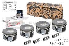 4x Kolben Reparatursatz STD Ø 71,00 mm VW AUDI SKODA SEAT 1,2 TSI CBZA CBZB