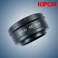 New Kipon adapter for Minolta MD mount lens to Sony E NEX camera NEX7/A7/A7R