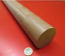 "Phenolic Garolite Phenolic Micarta Le Linen Rods 2.50"" Diameter x 48"" Long"