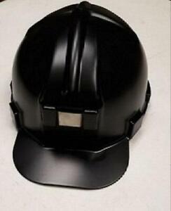 Low Pro ANSI Z89.1 Certified Hard Hat (Matte Black)