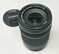 Canon EF-S 18-135mm f/3.5-5.6 IS STM Lens - scratch on glass