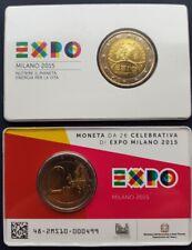 2 euro 2015 Italia Italy EXPO BU CoinCard official