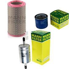 Mann-filter Set Fiat Barchetta 183 1.8 16V 9684710
