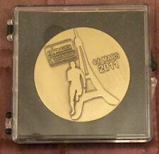2011 Paris Athletics European Champ PARTICIPATION MEDAL / France