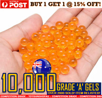 7-8mm Gel Balls Blaster Ammo Orange Extra Hard Gel Ball Ammo 7-8mm Gels JM M4A1