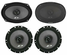 "Pair Alpine SXE-6926S 6x9"" 280w+Pair 6.5"" 220w 2-Way Car Audio Coaxial Speakers"