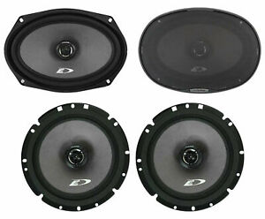 "Pair Alpine SXE-6926S 6x9"" 280w+Pair 6.5"" 220w 2-Way Car Audio Coaxial Speakers"