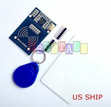 Rfid-rc522 RF IC Card Sensor Arduino Module With 2 Tags Mfrc522 DC 3.3v USA