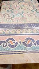 Vintage Atelier Martex Duvet Cover Mid Century Design Pink Lavender Aqua Full/Q
