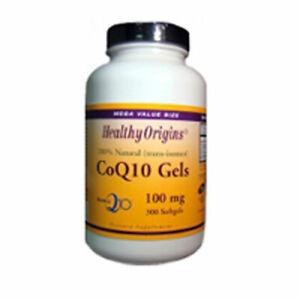 CoQ10 Gels ( Kaneka Q10 ) 300 soft gels 100 mg