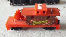 Vintage HO Scale Tyco Kansas Durango Colorado Searchlight Car