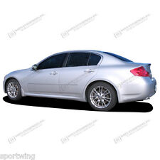FOR G35/G25 Painted Body Side Mouldings With Chrome Insert Trim 2007-2011