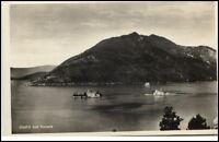 Otočići Kroatien alte Postkarte ~1930/40 kod Perasta Blick von Perast Insel