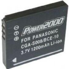 CGA-S008 CGAS008E DMW-BCE10 DMWBCE10 Battery Panasonic