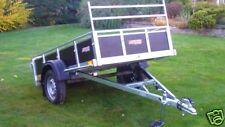 Trailwood kippbar mit Reling Leitergestell Stützrad NEU 202 cm l x 125 cm x 35cm