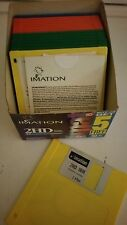 "NEW Genuine Imation 3.5"" Floppy Disks 1.44 MB  DS/HD Open Box 15 Rainbow Colors"