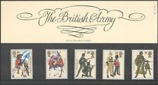 GB 1983 Uniforms/Military/Army/Flags/Weapons/Soldiers 5v set P Pack (n43343)