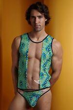 COMBO DEAL! Naughty Boy Multi Animal Tank & Bikini Set Men's Party Pool Wear