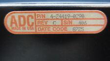 Adc 4-24419-0290 Cross Connect Patch Panel Pnl Dsx 56 Ds1 Ck Bantum