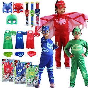 Lizenz Kinderkostüm PJ Masks Eulette, Catboy oder Gecko Fasching Verkleidung