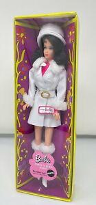 Vintage MOD Barbie Doll Brunette Flip Marlo Repro Red White Warm Gold Label 2007