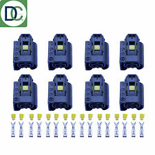 8 x Mercedes CLS Genuine Diesel Injector Connector Plug Bosch Common Rail