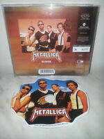 CD METALLICA - INTERVIEW - SHAPED - NUMBERED