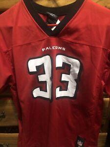 Vtg Red Atlanta Falcons Michael Turner #33 Reebok NFL Jersey Youth XL