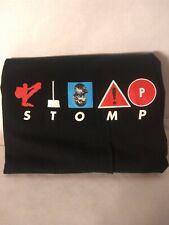 Vintage 90s STOMP UK Music Group Band Tee Black Graphic T-Shirt Adult Sz XXL