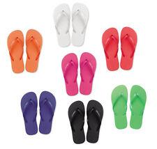 BN Mens Beach Flip Flops Summer Sandals Bright Foam 2 Sizes M/L Approx Size 6/9