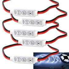 5x Mini 3 Keys Dimmer Controller 12V For Single Color 5050 3528 Led Light Strip