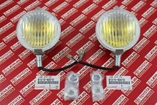Toyota Land Cruiser FJ40 40 Series OEM Yellow Fog Lights Lamps Pair 81210-60010