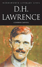 D H LAWRENCE Catherine Carswell WORDSWORTH LITERARY LIVES PB BOOK