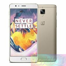 OnePlus One Plus 3 Three A3010 3T Gold 64GB 4G LTE AU WARRANTY Smartphone*