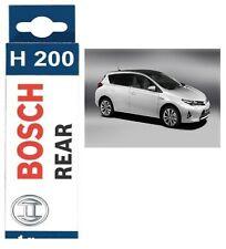 Bosch Rear Window Windscreen Wiper Blade 200mm H200 For TOYOTA AURIS