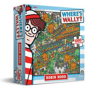 1000 Piece Jigsaw Puzzle Where's Wally -  Robin Hood