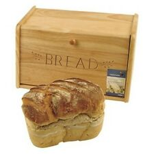 Traditional Wooden Bread Bin With Drop Down Front NEW!!