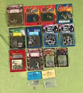 Mixed Lot of Dungeons and Dragons Miniatures Ral Partha Citadel Grenadier NIB