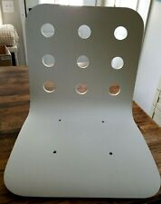 IKEA JULES Chair Top Seat Shell Only White - Pressed Wood MCM Modern Dining Desk