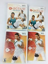 Wii Active More Workouts EA Sports Nintendo & Personal Trainer Lot Of 2