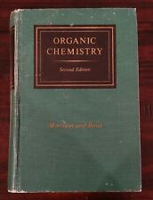ORGANIC CHEMISTRY 2nd Edition MORRISON BOYD Vintage Hardcover Textbook