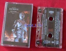 Cassettes audio michael jackson