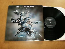 LP (Uk press) - Various artists : METAL WARRIORS - EBONY 11