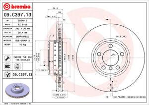 Brembo 09.C397.13 Front Premium Rotor